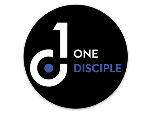One Disciple 3x3 Circle Decal