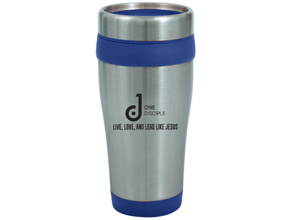 One Disciple Stainless Steel Travel Tumbler 16oz