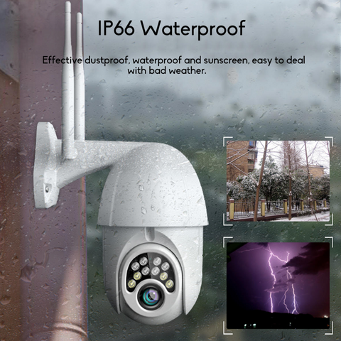 Whether you live in a hot, cold, wet or dry climate, the GUUDGO Wireless Outdoor Wifi 1080P HD Security Camera is the perfect security camera for your needs 24/7 and all year round.