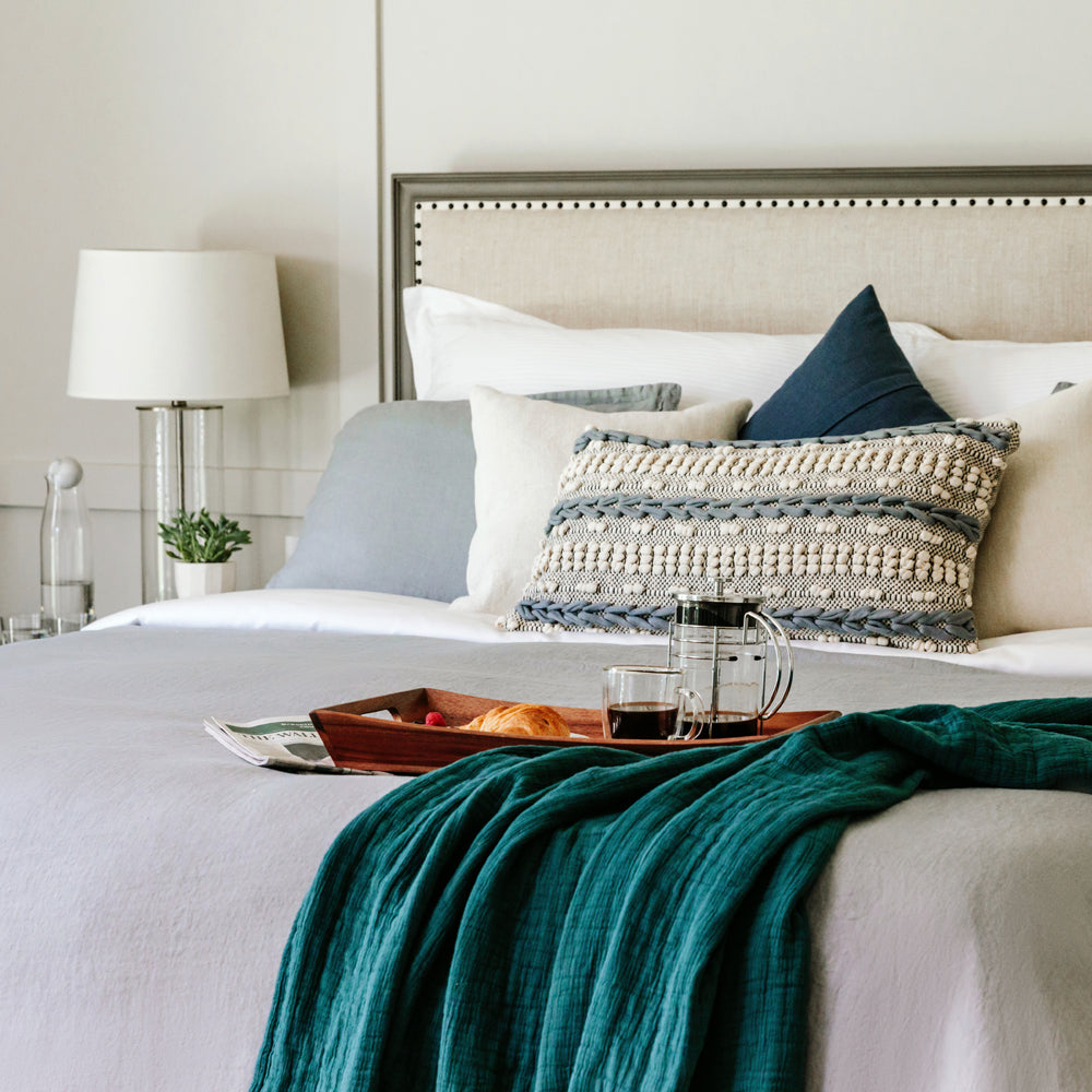 How to Style Your Bed like a Luxury Hotel