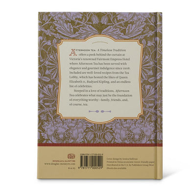 Afternoon Tea Book Back Cover