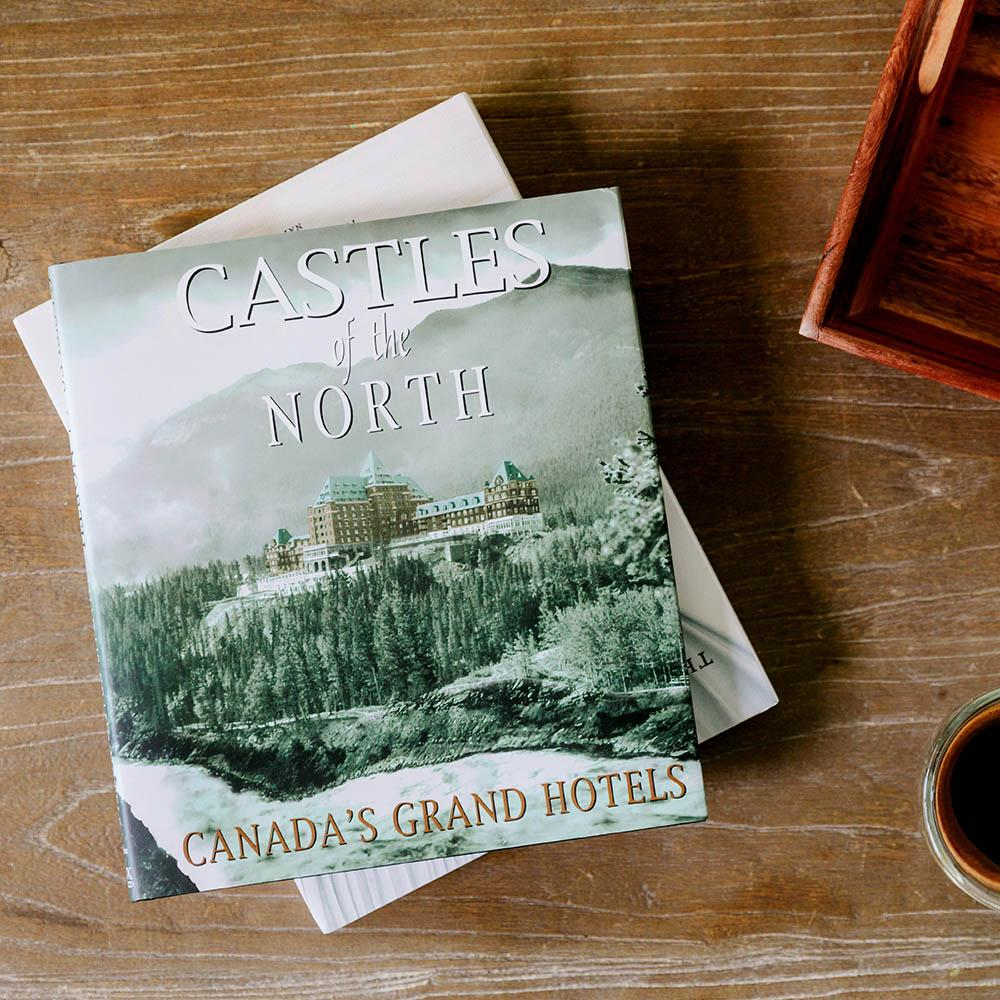 Castles of The North Book on Coffee Table