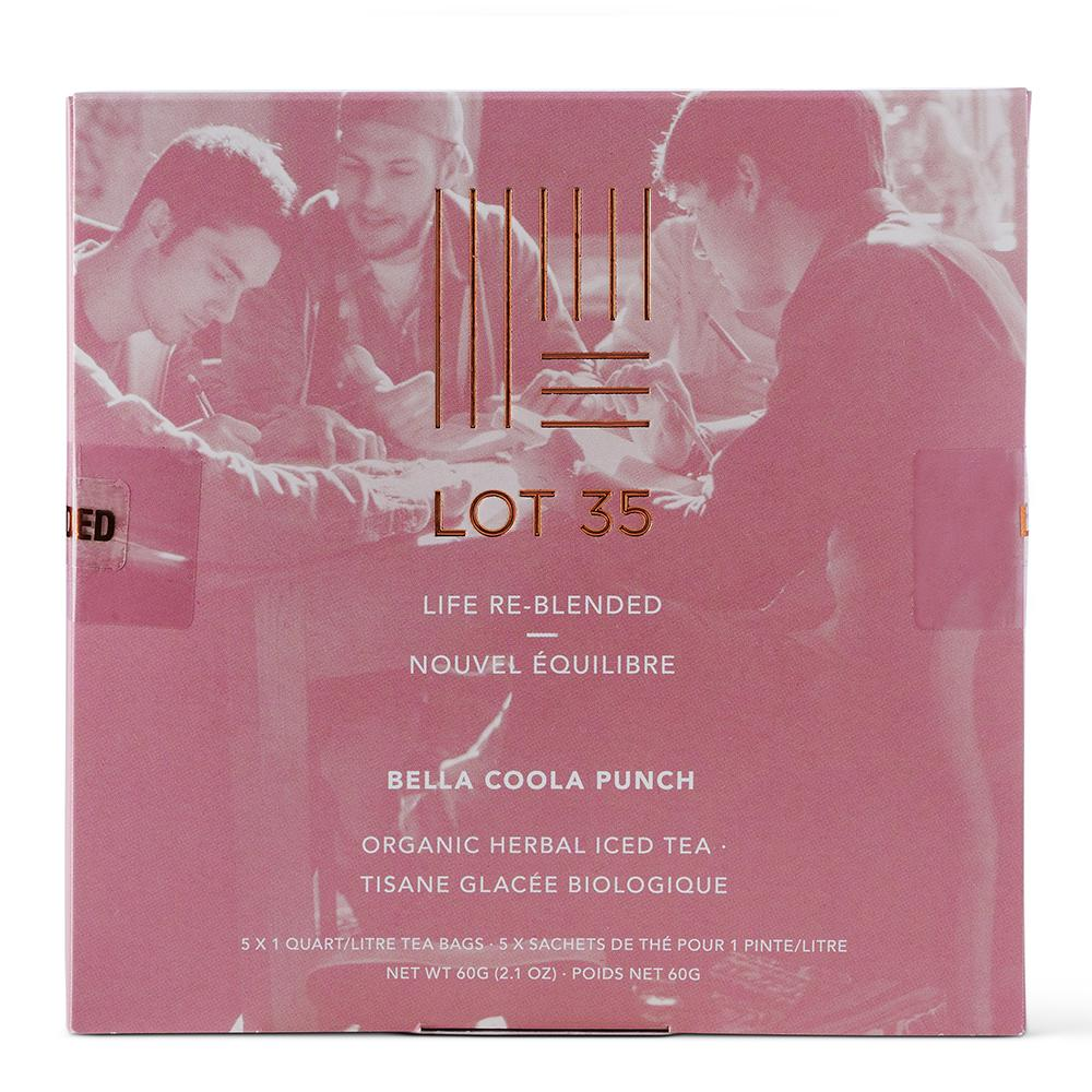 Bella Coola Punch Iced Tea (Decaf) by Lot 35