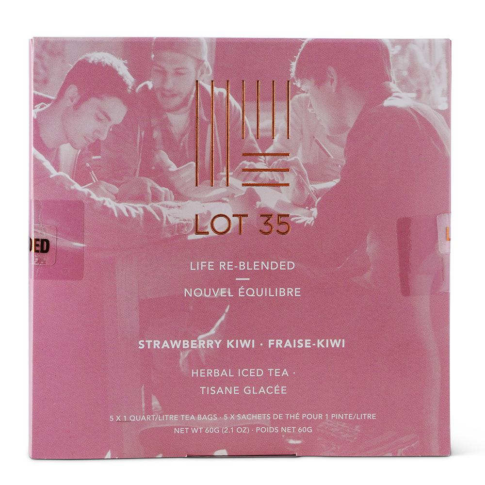 Strawberry Kiwi Iced Tea (Decaf) by Lot 35