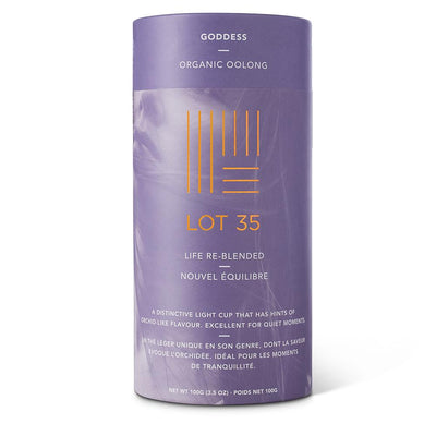 Organic Goddess Oolong loose leaf tea by Lot 35