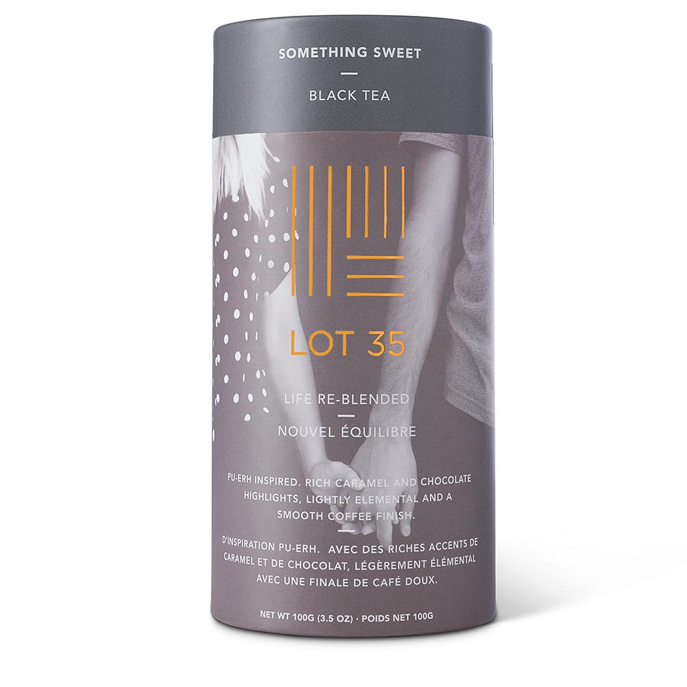 Something Sweet loose leaf tea by Lot 35