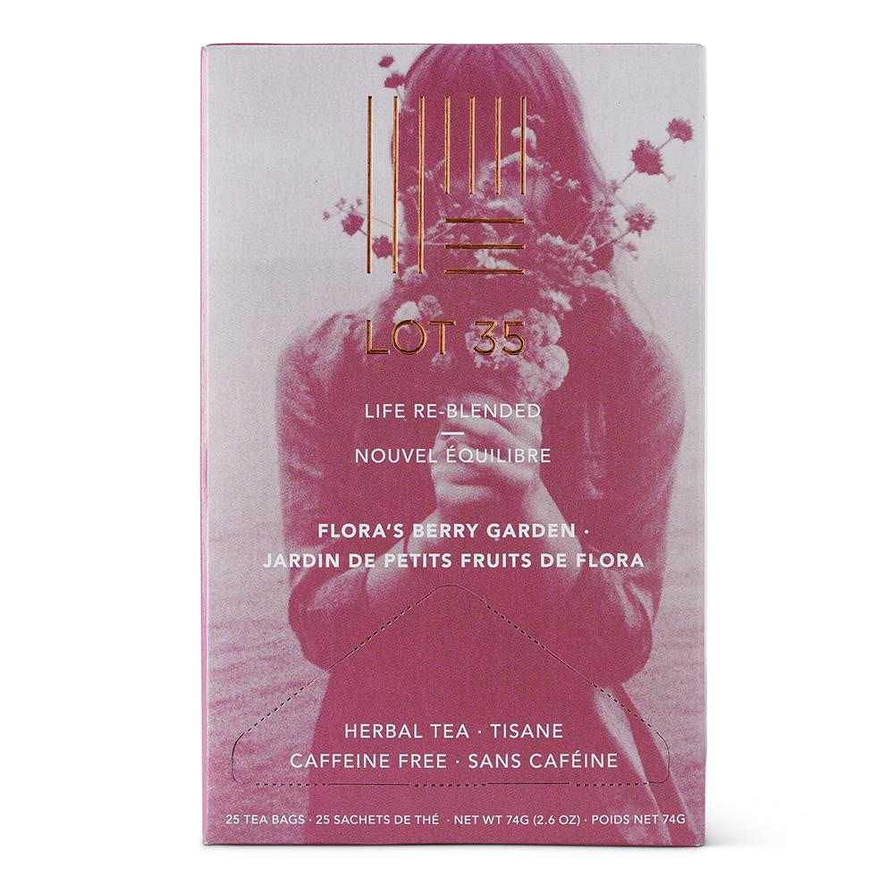 Flora Berry Garden (Decaf) tea by Lot 35