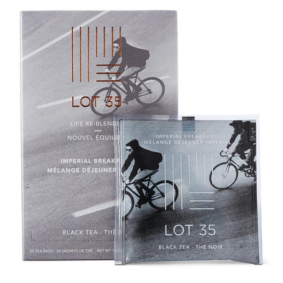 Imperial Breakfast individual tea bag by Lot 35