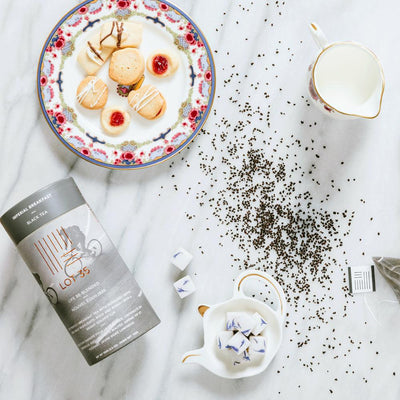 Imperial Breakfast tea by Lot 35 in breakfast setting