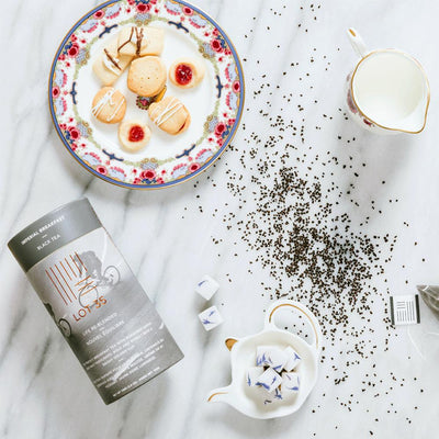 Imperial Breakfast loose leaf tea by Lot 35 and other sweets