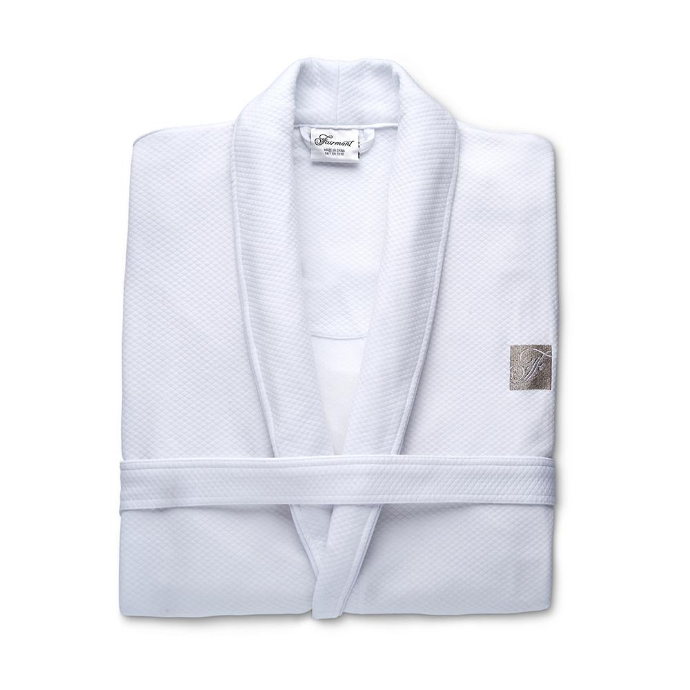 Folded panama Robe