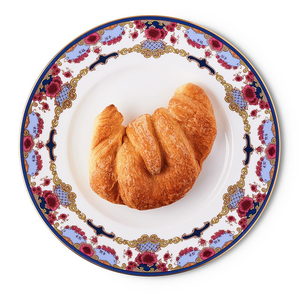 Empress Royal China 10-inch Plate with Croissant