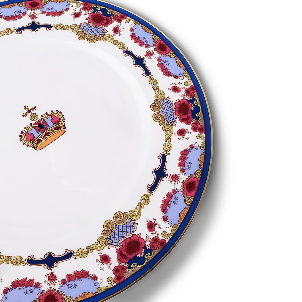 Empress Royal China 8-inch Plate Details