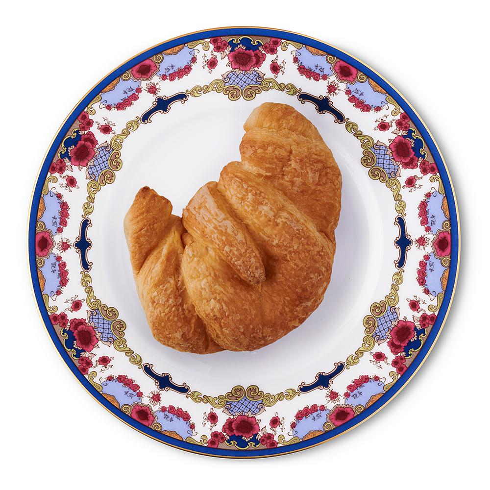 Empress Royal China 8-inch Plate with Croissant