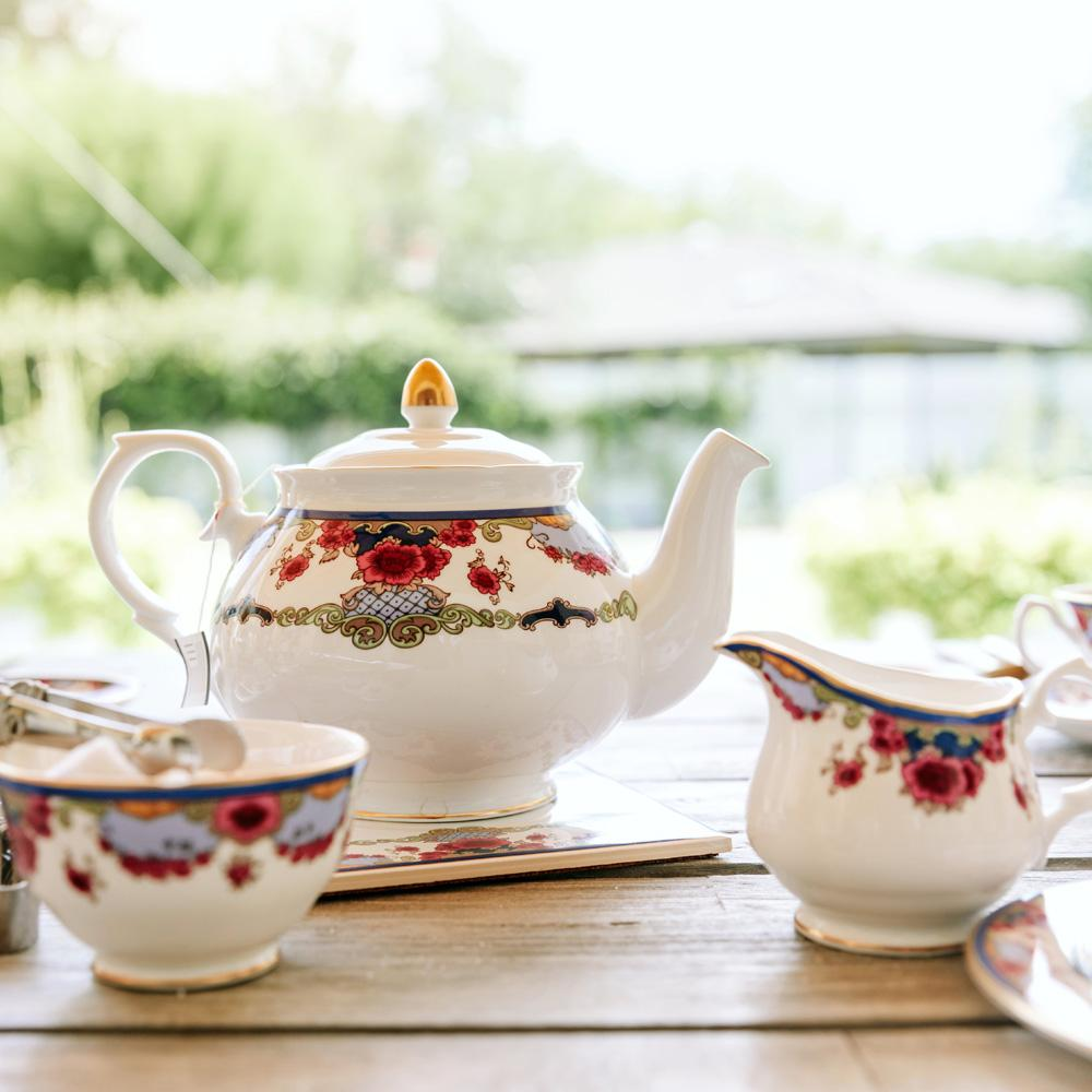 Empress Royal China Creamer in Afternoon Tea Setting