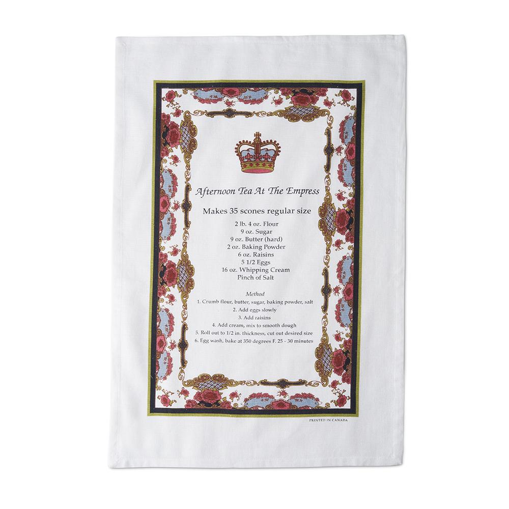 Empress Royal Pattern Tea Towel