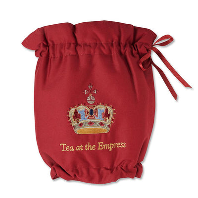 Empress Royal Pattern Teapot Cozy - Burgundy