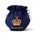 Empress Royal Pattern Teapot Cozy in Navy on Tea Pot