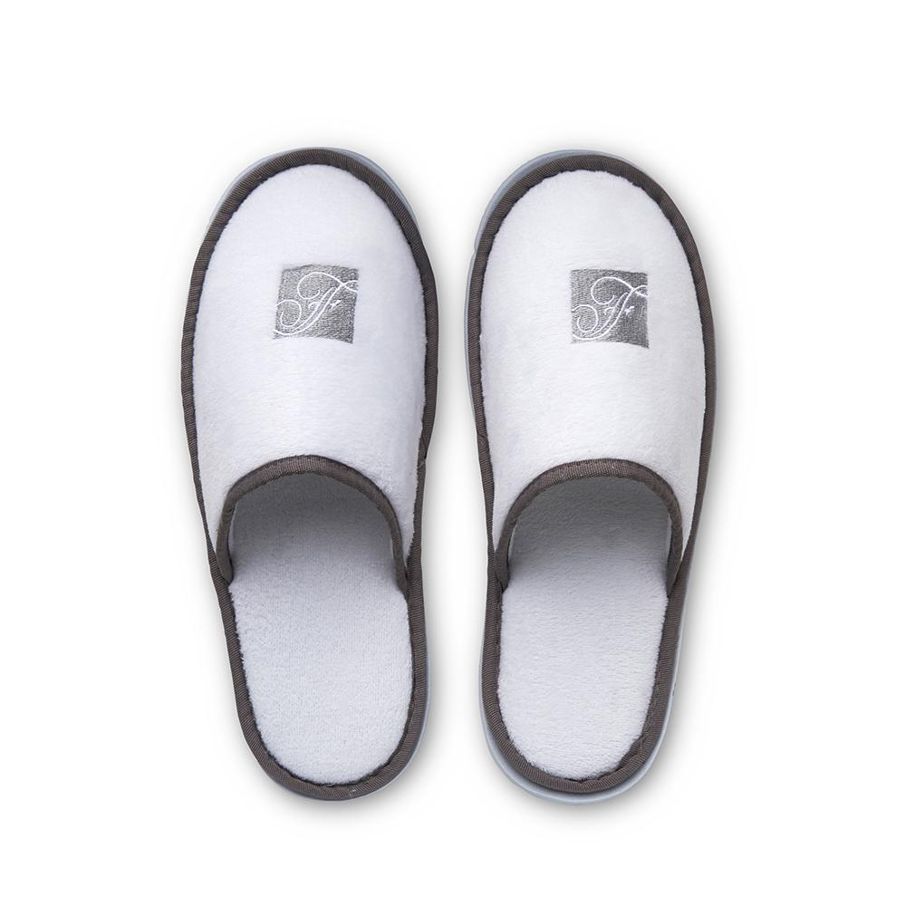 White slippers for women