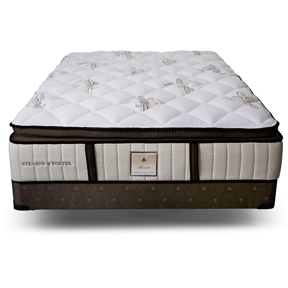 The Fairmont Signature Bed - Sealy Sterns & Foster mattress