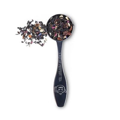 Teaspoon with loose leaf tea for a perfect pot of tea (3 - 4 cups)