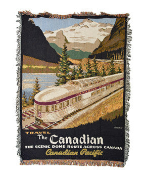 Blanket - Canadian train