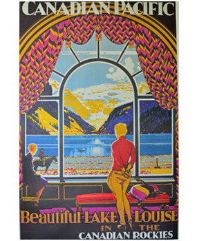 Poster - Beautiful Lake Louise