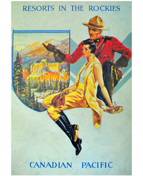 Poster - Resorts in the Rockies