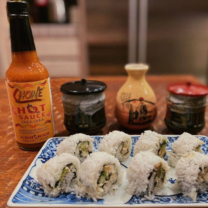 Spicy California Riviera Crab Rolls