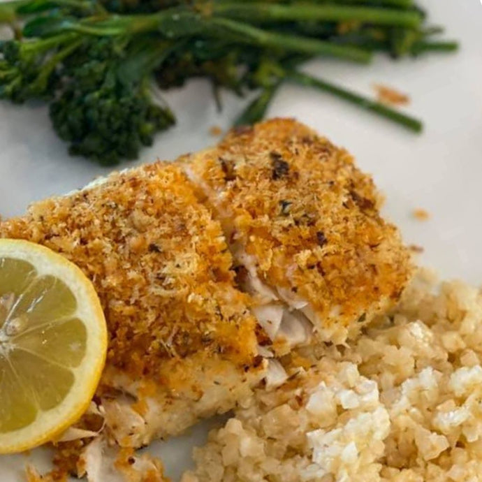 Spicy Baked Halibut