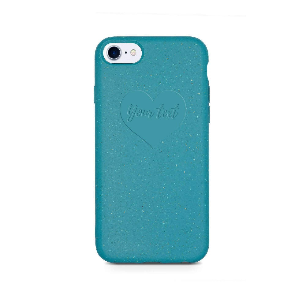 Biodegradable Personalized Phone Case - Ocean Blue