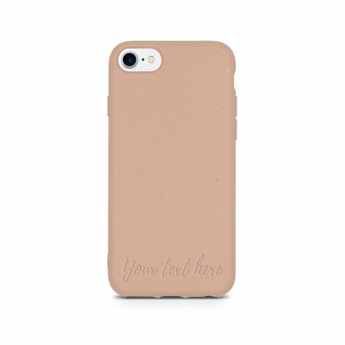 Personalized Biodegradable Phone Case - Pink