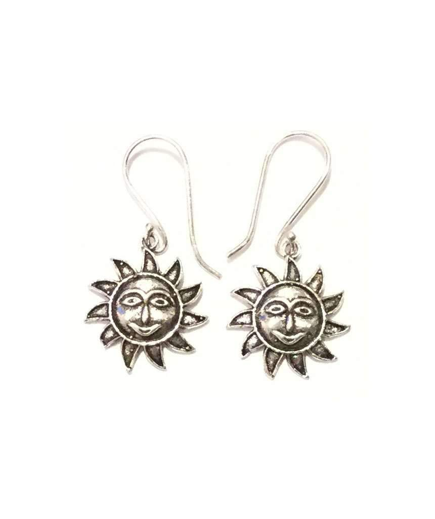 Small Sun Earrings