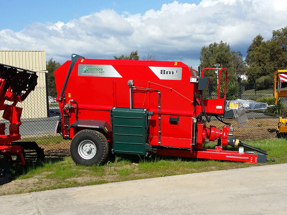 Feed Mixer - Horizontal - TYYKM-8, 8 Cubic Meters, Trailed, PTO