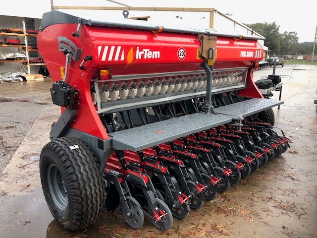 Seed Drill, IRTEM FDD 3M, double disc