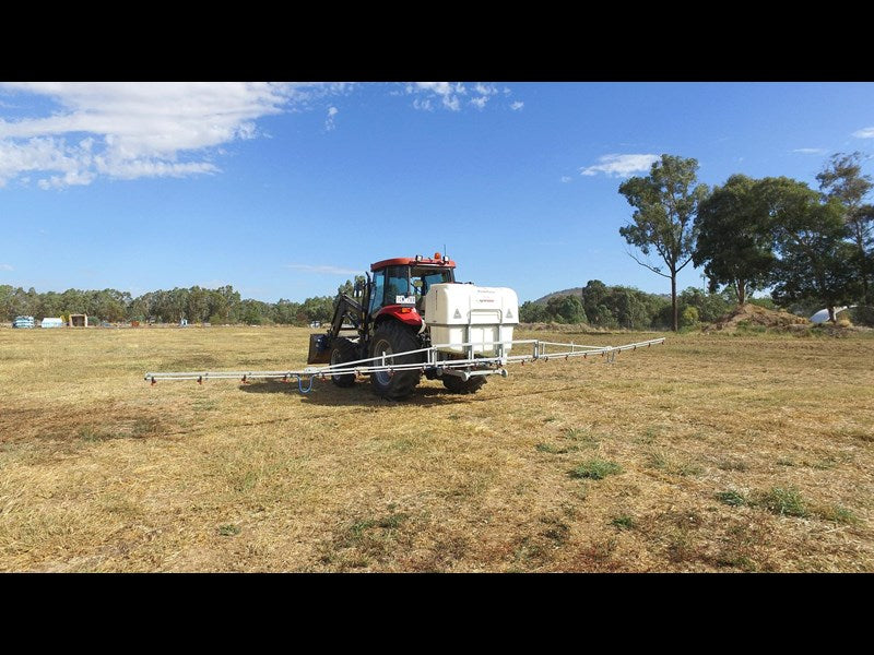 FIELD Boom SPRAYER 800L Tank, C96 Pump, and 12M SEMI HYD BOOM, 3PL GALV FRAME & BOOM.