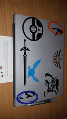 Pokemon, Portal, and Zelda Vinyl Sticker Decals