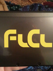 FLCL Vinyl Sticker Decal on 3DS XL