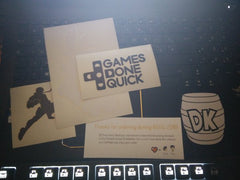 GDQ Banjo Captain Falcon and DK barrel Vinyl Sticker Decal