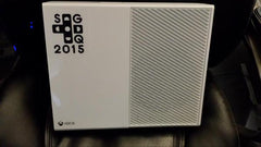 Awesome Games done Quick 2015 Vinyl Sticker Decal on Xbox