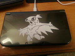 Hawlucha 3DS XL Vinyl Sticker Decal