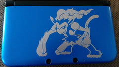 Infernape 3DS XL Vinyl Sticker Decal
