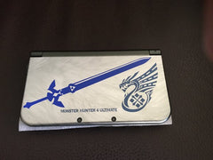 Mastersword Vinyl Sticker Decal on Monsterhunter DS