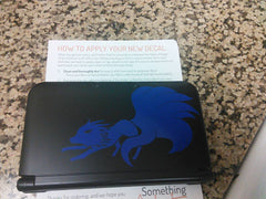 Ninetales 3DS XL Vinyl Sticker Decal