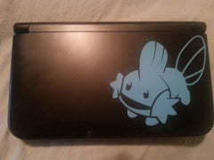 Mudkip 3DS XL Vinyl Sticker Decal