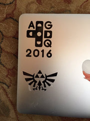 GDQ 2016 and Hyrule Crest Vinyl Sticker Decal