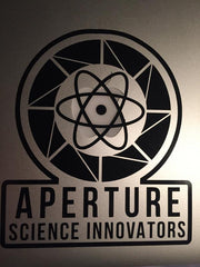 Aperture Science Logo Vinyl Sticker Decal