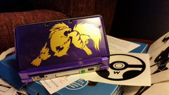 Arcanine 3DS XL Vinyl Sticker Decals