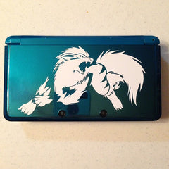 Arcanine 3DS XL Vinyl Sticker Decal