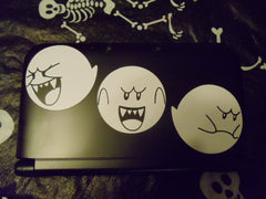 See no Evil, Hear no Evil, Speak no Evil Nintendo Boo Ghost Decal